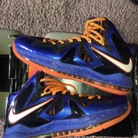 "a2b80c4925d Men s Nike Lebron X P.S. Elite ""Superhero"" size 10.  M 5bbfaeb2df0307af4676cfa0"